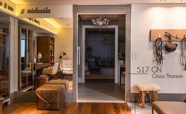 Guarnição Cinza Titanium Inova 517 10cm decoração
