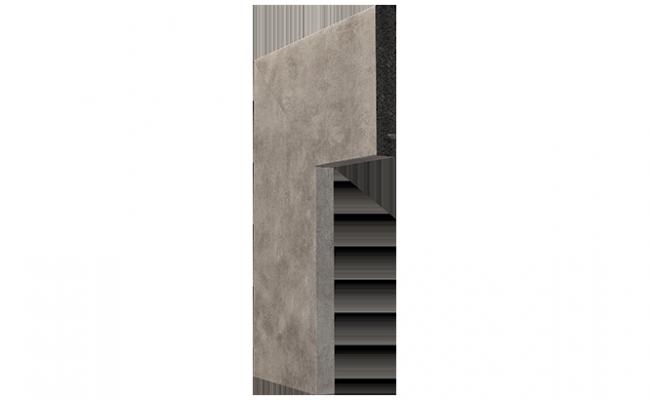 Guarnição Coleção OXI Prata 3547 10cm
