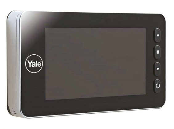 Olho Mágico Digital Yale Auto Imaging verso