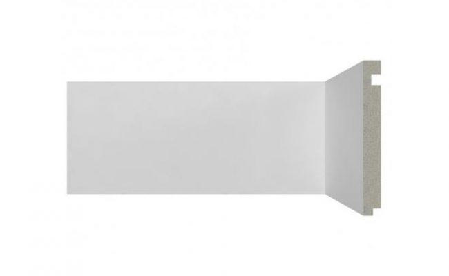 Rodapé Branco Moderna Santa Luzia 496 15cm medida