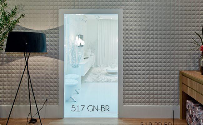 Guarnição Branca Inova 517 10cm decoração
