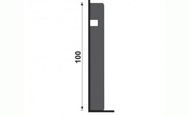 Guarnição Coleção Aluminium 3454 10cm medida
