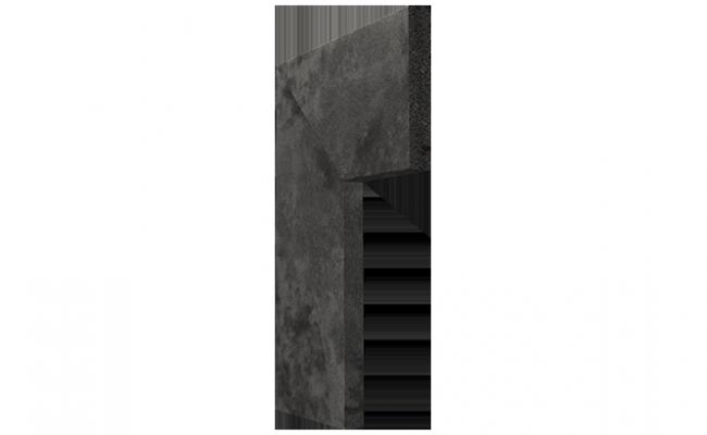 Guarnição Coleção OXI Preto 3554 10cm