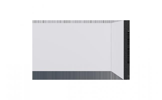 Rodapé Branco Engenharia Santa Luzia 3562 13cm