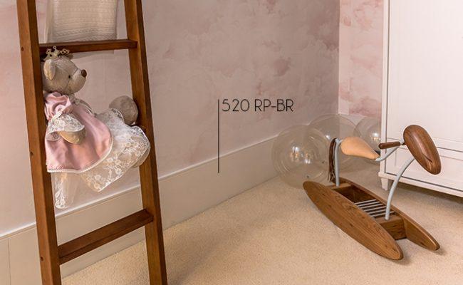 Rodapé Branco Inova Santa Luzia 520 25cm decoração 2
