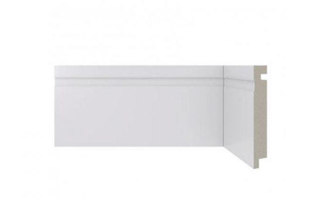 Rodapé Branco Moderna Santa Luzia 457 10cm