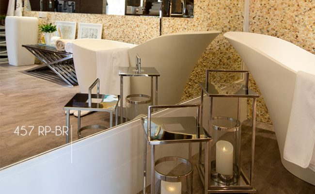 Rodapé Branco Moderna Santa Luzia 457 10cm decoração 2 sobrepor