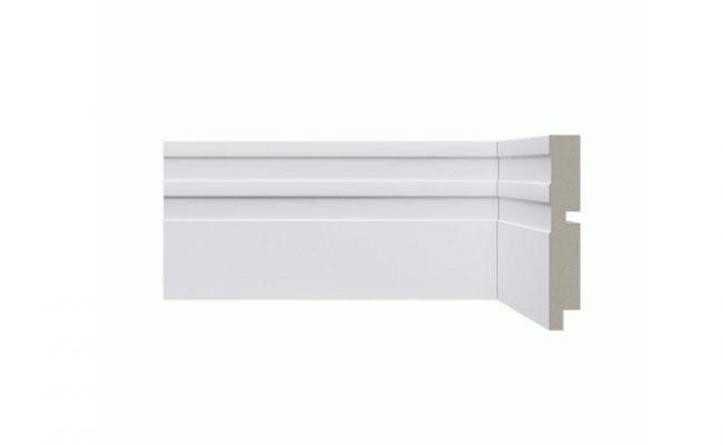 Rodapé Branco Moderna Santa Luzia 512 10cm