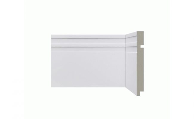 Rodapé Branco Moderna Santa Luzia 513 15cm